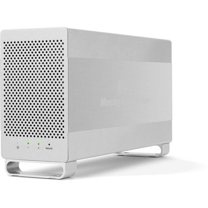 OWC 16TB HDD Mercury Elite Pro Dual Performance RAID Storage Solution (with USB 3.1 and FireWire 800 ports)