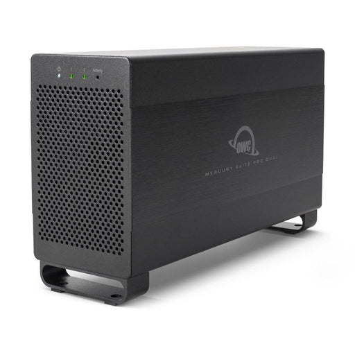 OWC 4TB Hybrid HDD/SSD Mercury Elite Pro Dual Performance RAID Storage Solution (with Thunderbolt 2 and USB 3.1 ports)