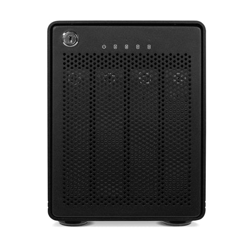 OWC 12TB ThunderBay 4 (Thunderbolt 2 Model) with Dual Thunderbolt 2 Ports and SoftRAID XT Lite