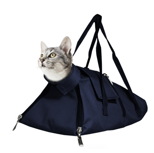 Cat Restraint Bag With Ultrasound Feature