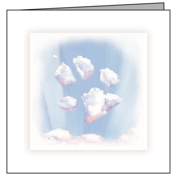 Animal Hospital Sympathy Card - Sky Paw