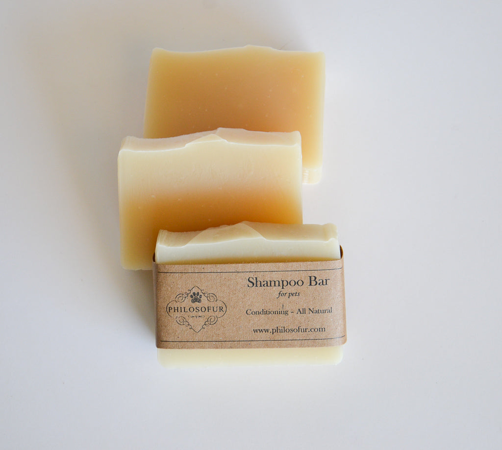 Pet Shampoo Bar All Natural Pet Shampoo | Philosofur