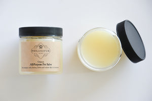 Organic All Purpose Salve for Pets - All Natural Philosofur Pet Products Online Australia