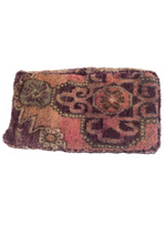 Moroccan Rug Cushion - Dusty Pink Purple (Large)