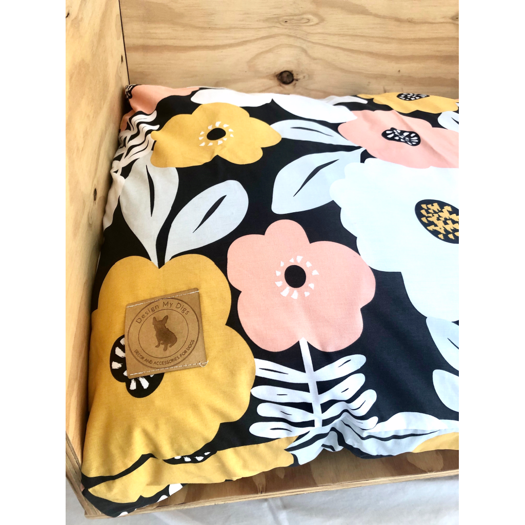 Floral Pet Cushion