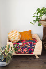 Vintage Boho Style Dog Cushion by Design my Digs - Decor for Dogs online Australia