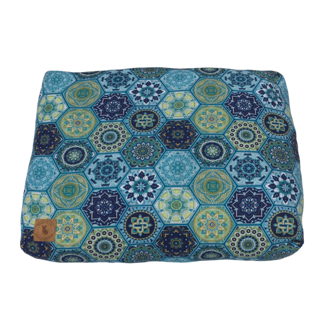'Mandala Blues' Pet Cushion