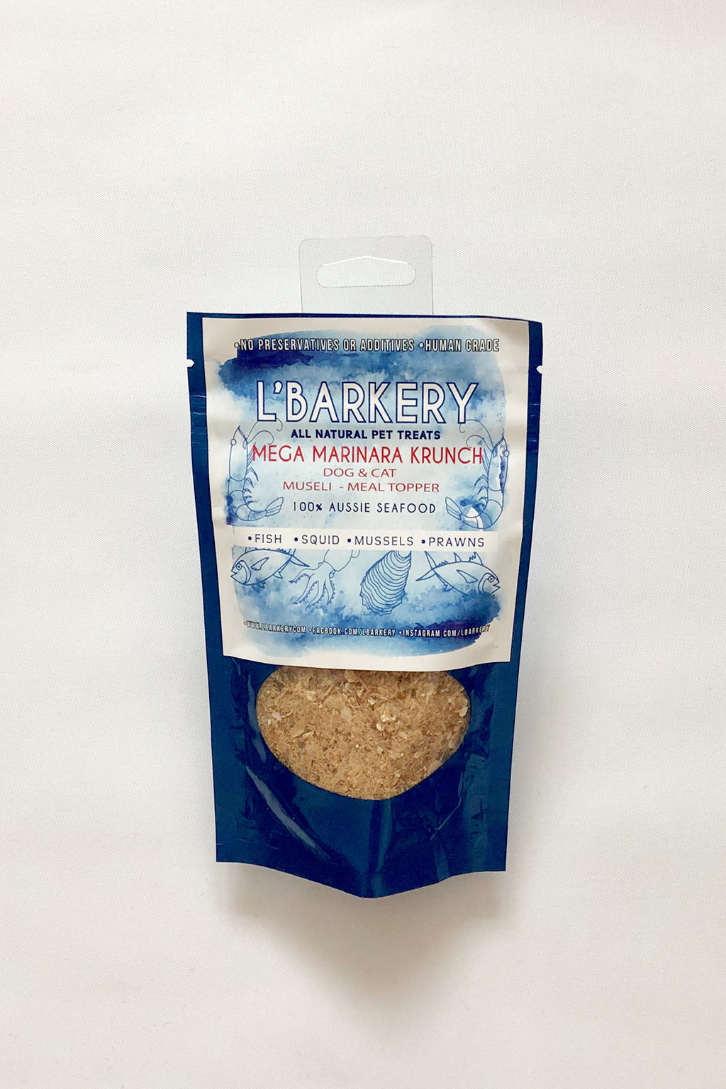 L'Barkery Marinara Krunch Online - Healthy Natural Pet Treats online Australia Design My Digs