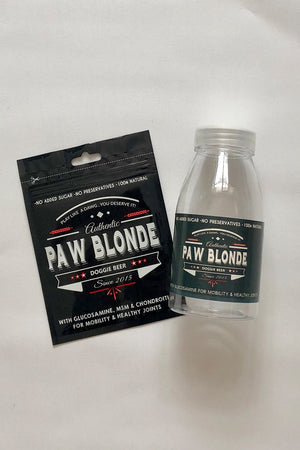 Paw Blonde Shaker - Shaker for Doggie Beer Buy Online Australia