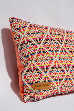 Multicoloured Pet Pillow Handmade in Australia by Design My Digs