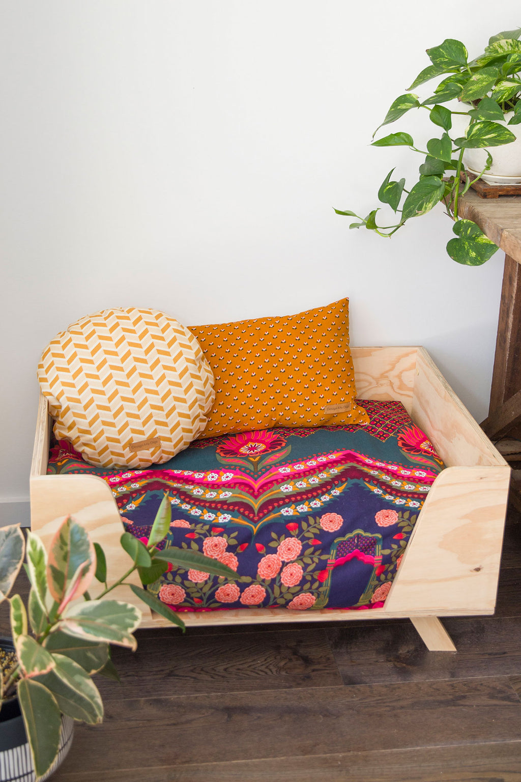 Wooden Pet Beds Online Australia - Design My Digs - Plywood Dog Beds
