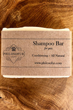 Shampoo Bar All Natural Pet Shampoo | Philosofur