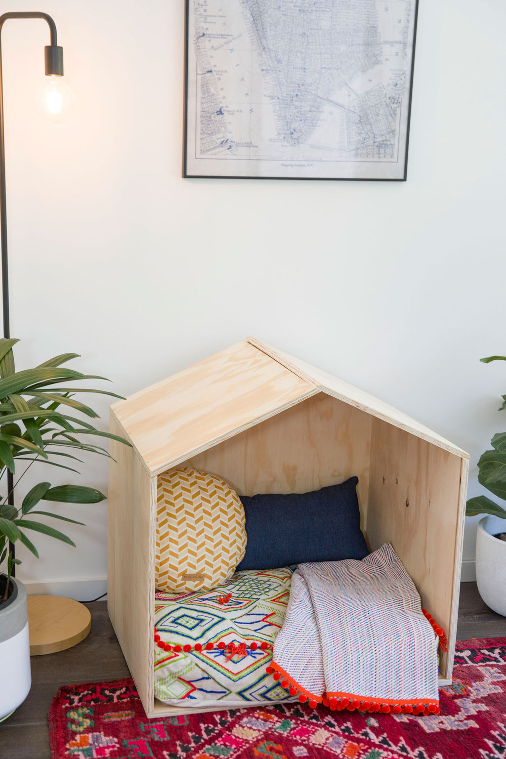 Stylish Wooden Dog Beds Online Australia - Design my Digs Dog Bed