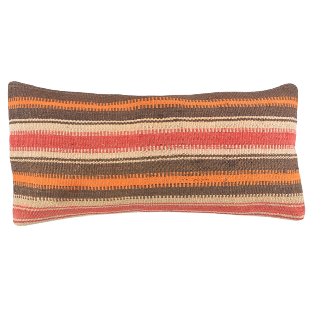 Natural Stripes Turkish Cushion - Medium