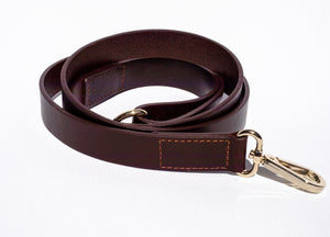 Genuine Leather Collar & Lead Set