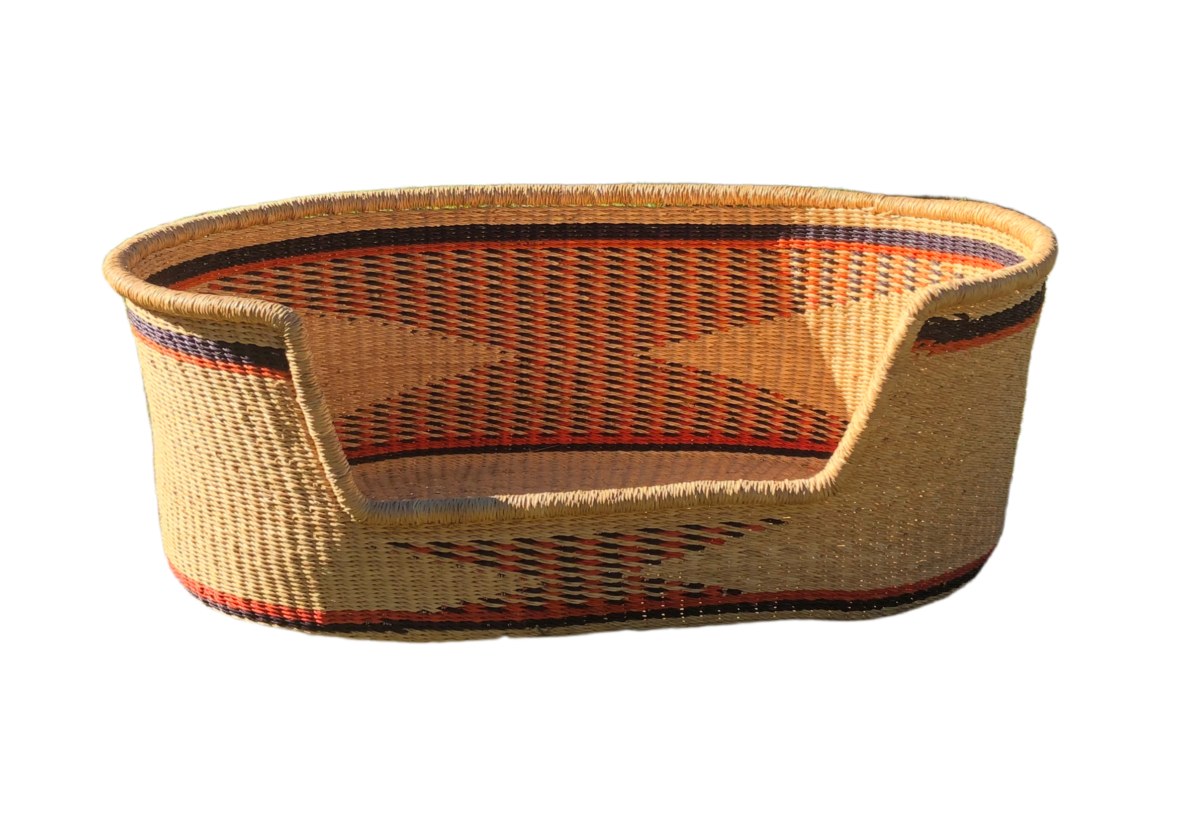 Woven Dog Bed - Large
