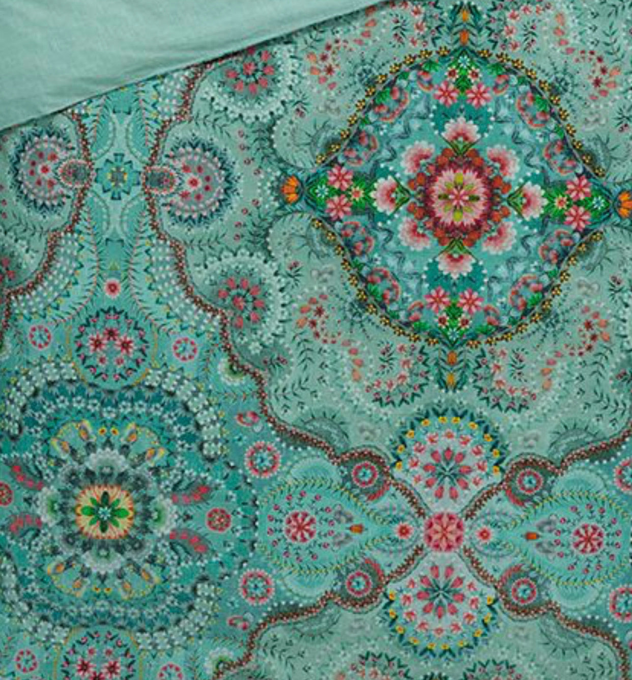 Aqua Mandala Pet Cushion