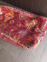 Moroccan Rug Cushion - Sangria (Large)