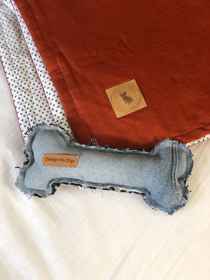 Bed Topper - Burnt Orange