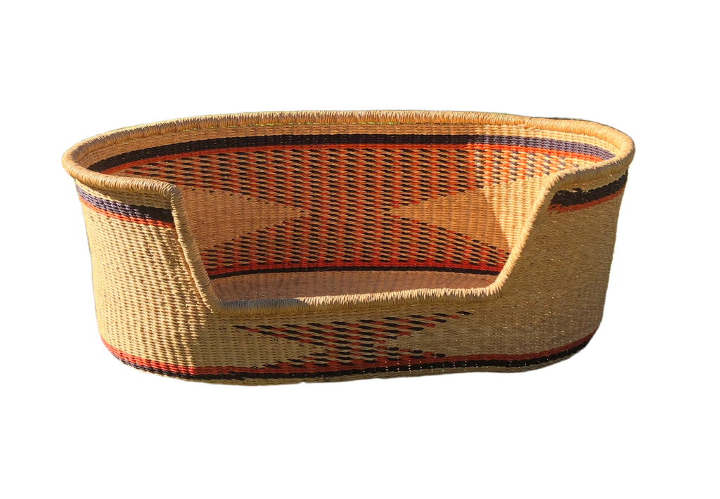Woven Dog Bed - Medium