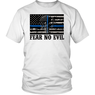 FEAR NO EVIL PUNISHER T-SHIRT