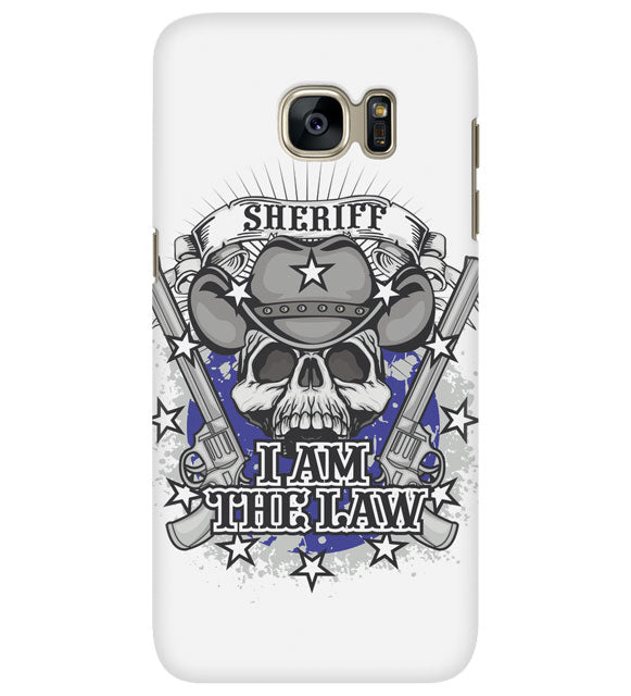I AM THE LAW CELL PHONE CASE