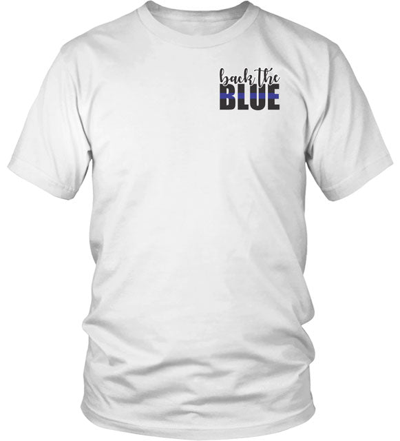 POLICE OFFICER PRAYER T_SHIRT