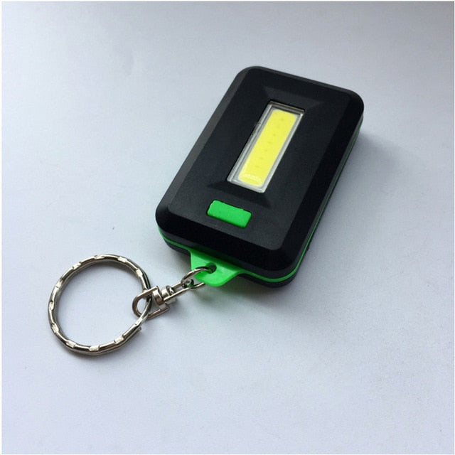 NEW Mini LED Flashlight Keychain Portable Keyring Light Torch Key Chain 45LM 3 Modes Emergency Camping Lamp backpack light