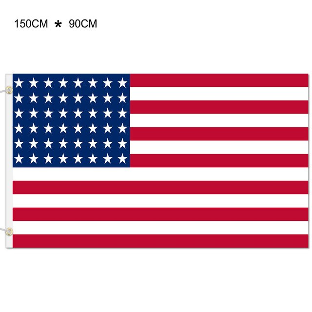 90x150cm American Flag High Quality USA Flag Blue Line Flag Of United States the Stars and the Stripes USA Flag Dropshipping