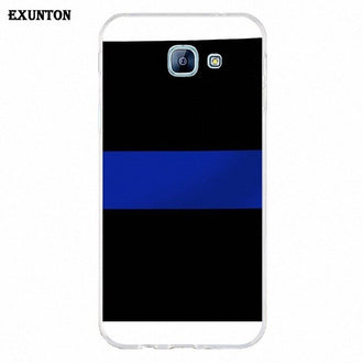 Soft TPU Cover Case For LG Nexus 5 5X V10 V20 V30 V40 2017 2018 2019 Rare Thin Blue Line Flag