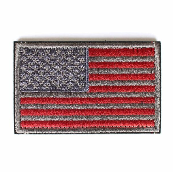 USA Flag Patches American Tactical Military patch for clothing Morale Badge stripes thin blue line patch with hook&loop