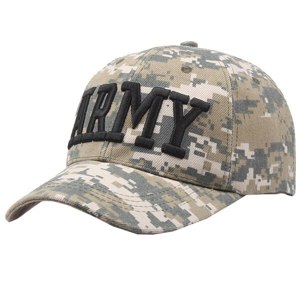 New Letter Police Baseball Cap for Men Women Summer Adjustable Snapback Army Camouflage Tactical Caps Sun Hat Sports Outdoor