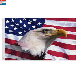 American Flag Veterans Daye Flag 4th of July Independence Memorial Day Army Warrior Flag