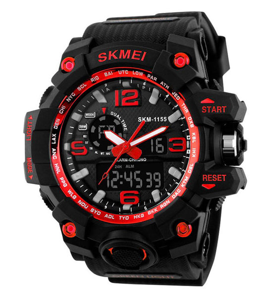 SKMEI LED MILITARY WATERPROOF WRISTWATCH