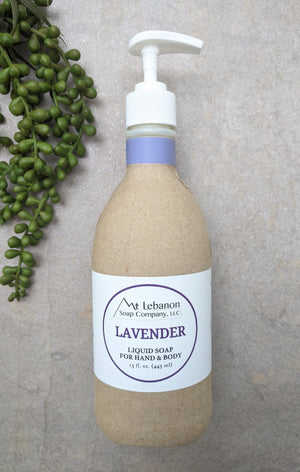 Lavender Liquid Soap For Hand & Body