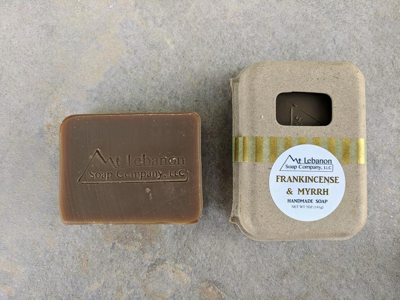 Frankincense and Myrrh Soap