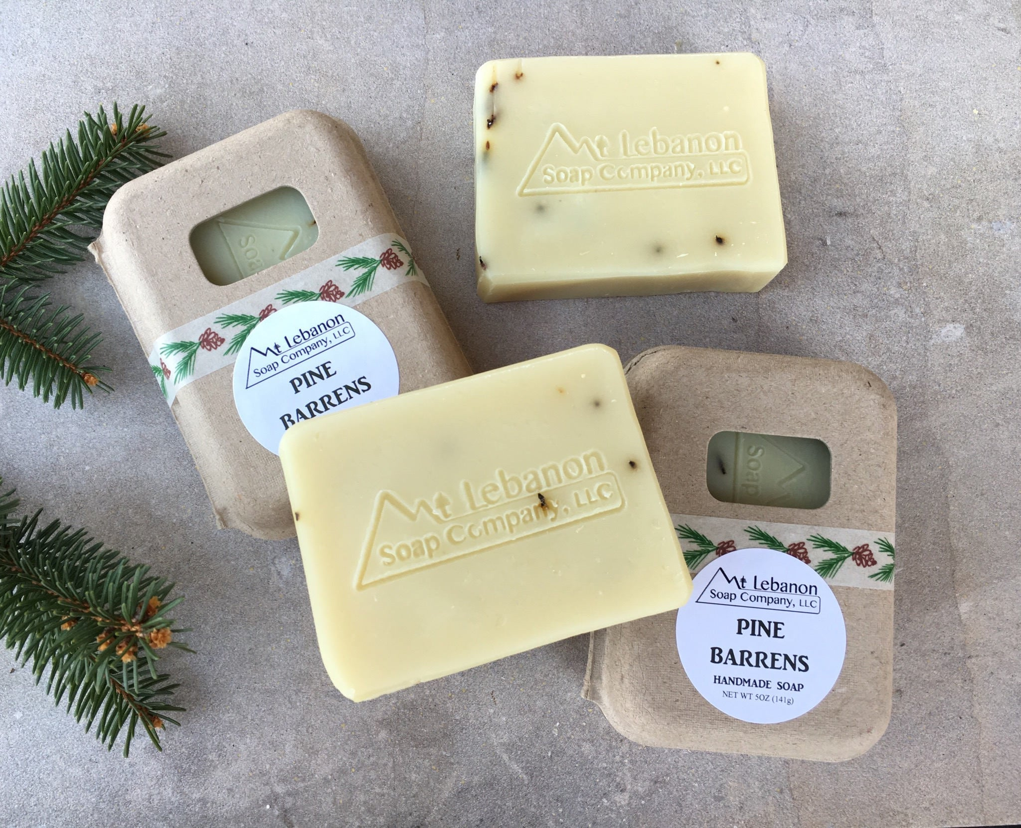 Pine Barrens Handcrafted Soap - NJ Gift for Men