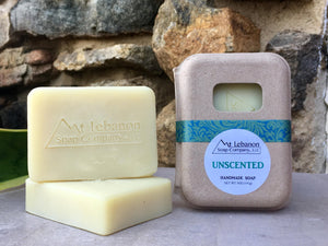 Handcrafted Unscented Soap