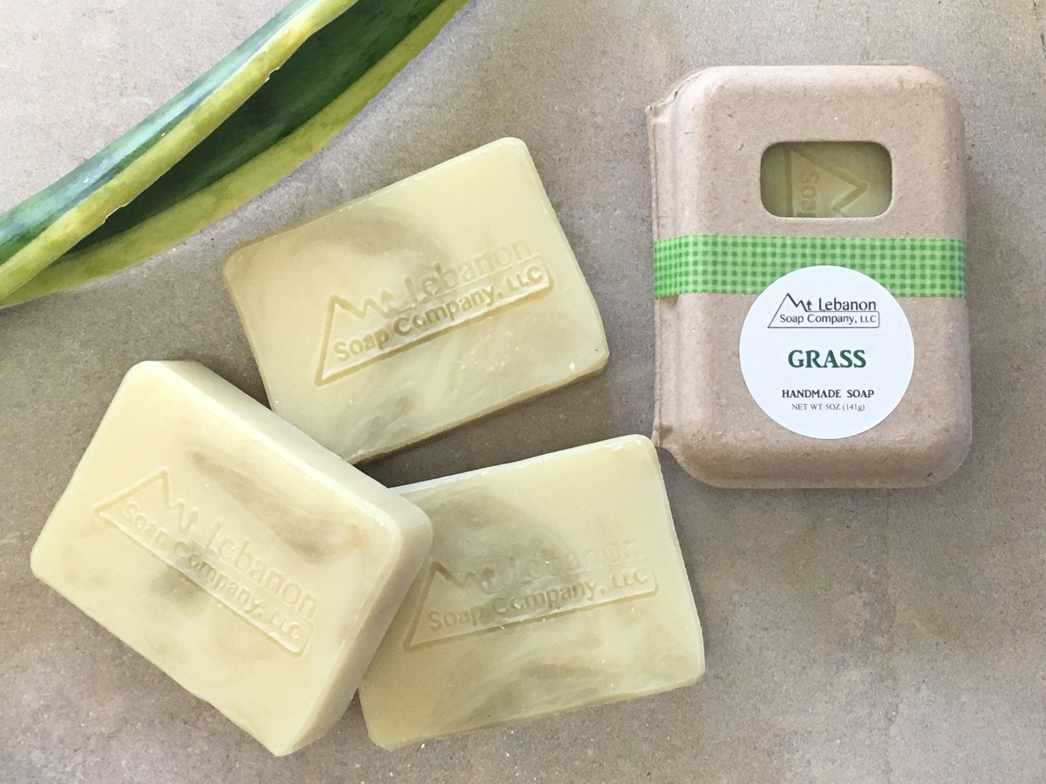Grass Soap With French Green Clay