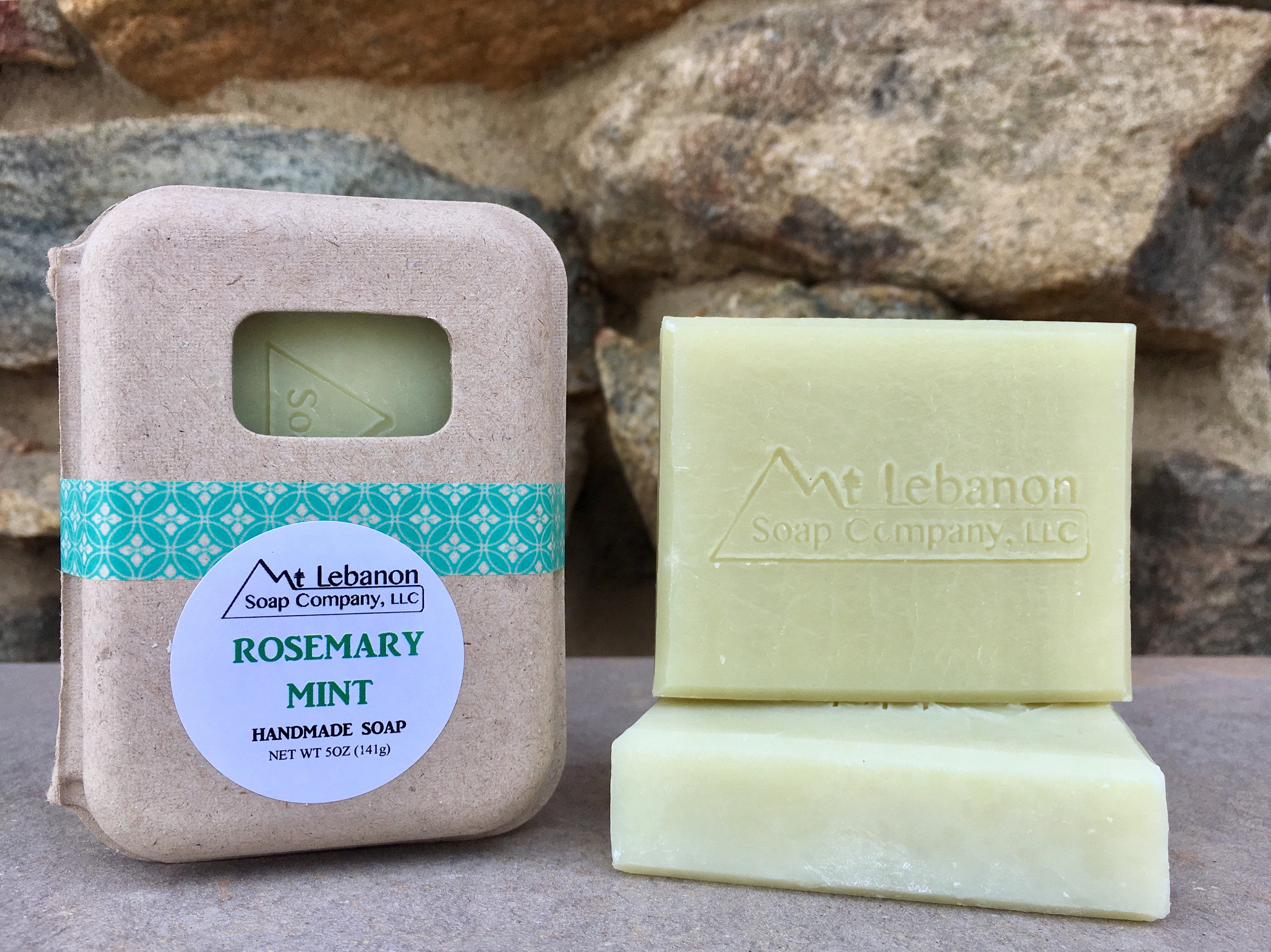 Rosemary Mint All Natural Bar Soap