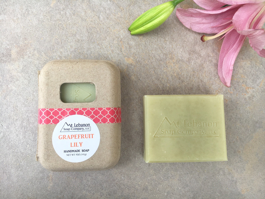 Grapefruit Lily Soap