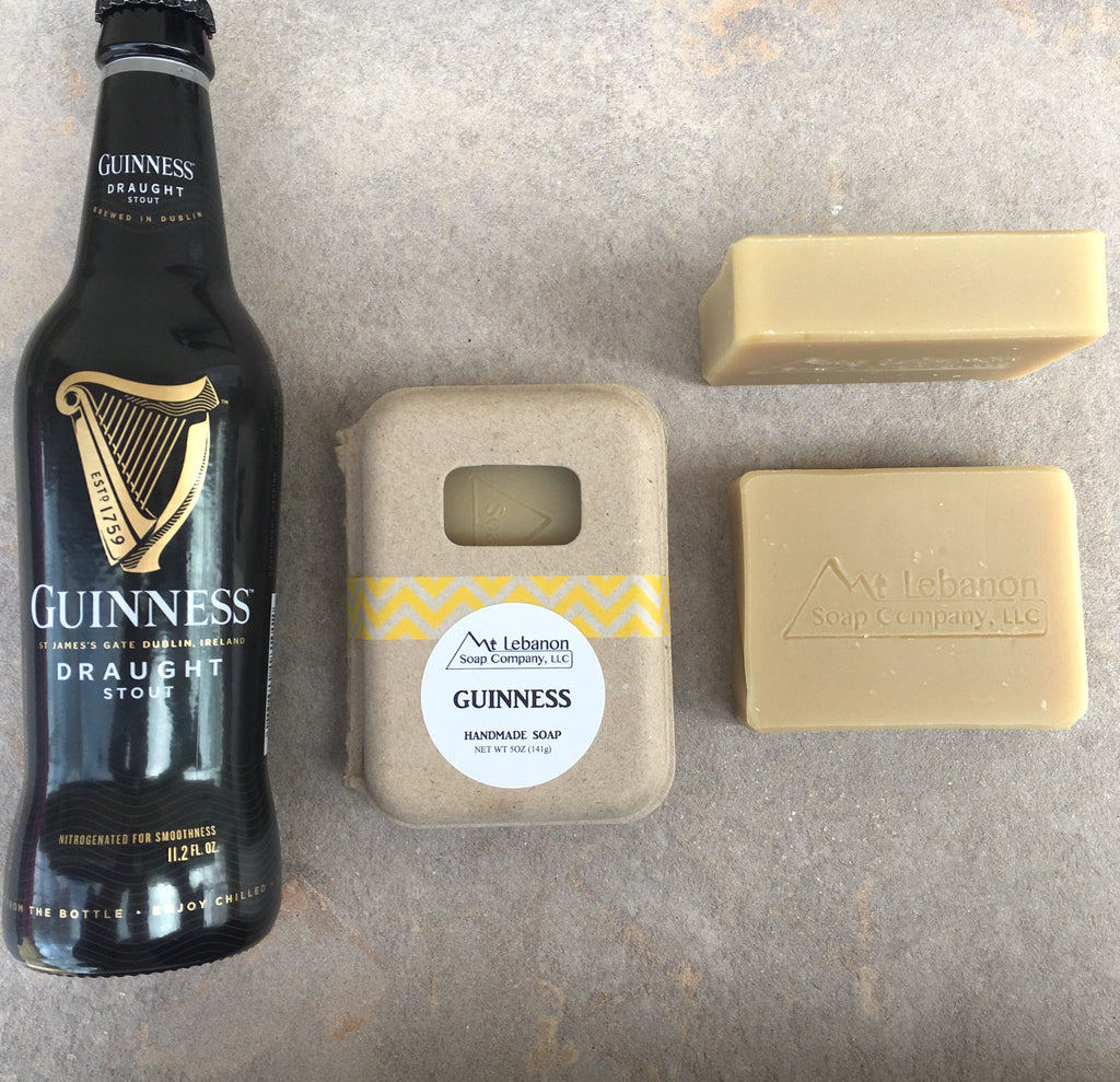 Guinness Soap - Unscented Beer Soap