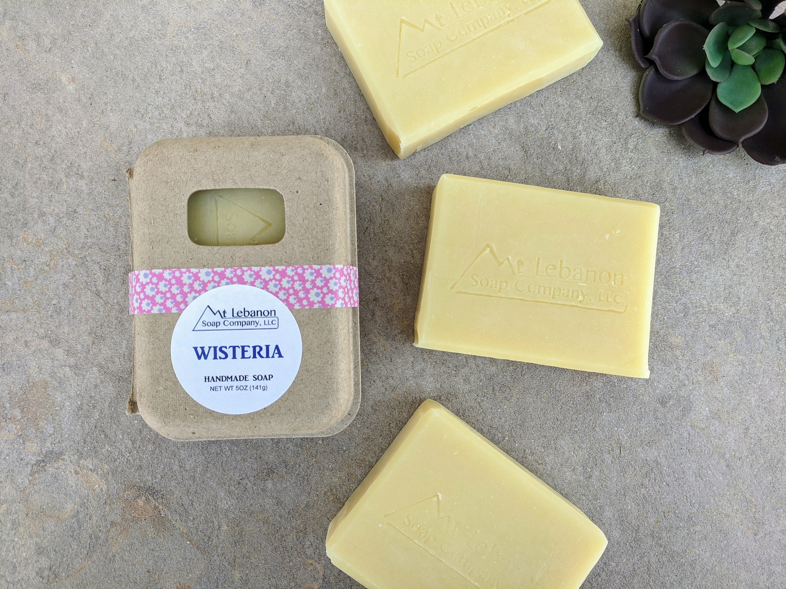 Wisteria Bar Soap