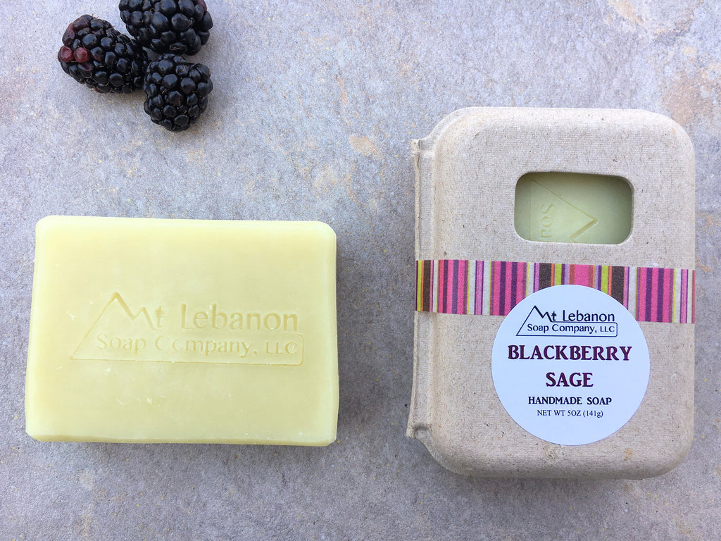 Blackberry Sage Vegan Soap