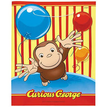 Load image into Gallery viewer, Curious George Loot Bags [8 Per Pack] - shop54675