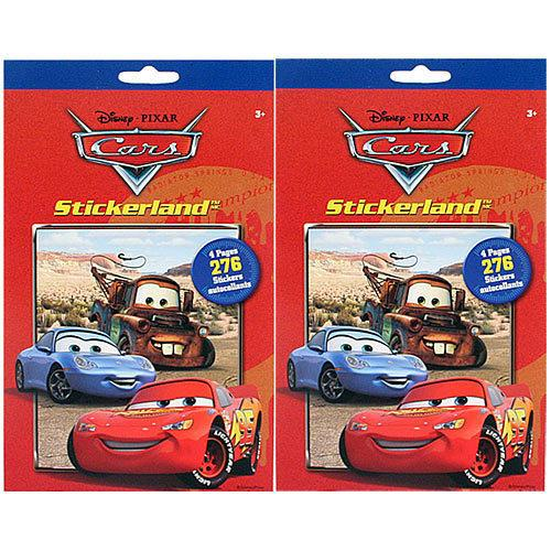 Disney Pixar Cars Stikerland Pad [2-Pack] - shop54675