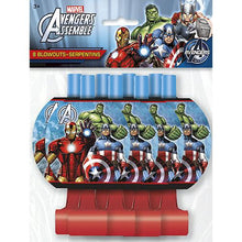 Load image into Gallery viewer, Marvel's Avengers Party Blowouts [8 Per Package] - shop54675