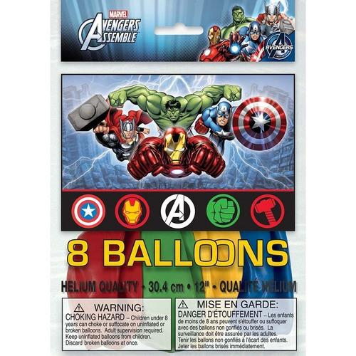 Marvel's Avengers Latex Balloons [8 Per Package] - shop54675