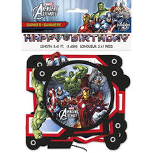 Load image into Gallery viewer, Marvel's Avengers Jointed Birthday Banner - shop54675