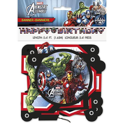 Marvel's Avengers Jointed Birthday Banner - shop54675